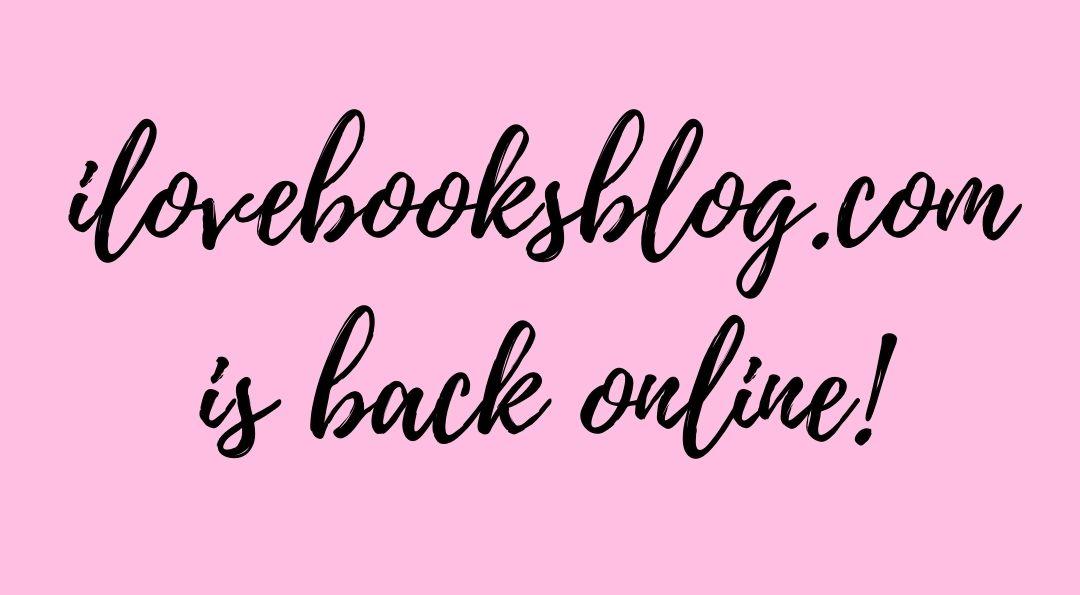 ilovebooksblog.com is back online - let's talk romance novels