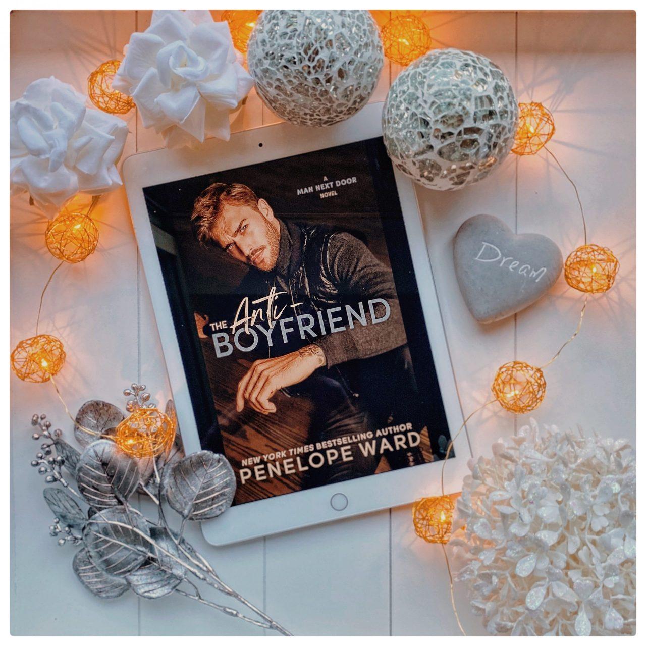 Penelope Ward - The Anti-Boyfriend Bookpic ilovebooksblog.com